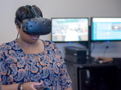 HopeHealth Behavioral Health Services Virtual Reality Room