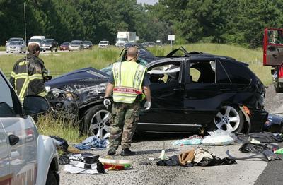 Crash ties up I-95 traffic | Local News | scnow com
