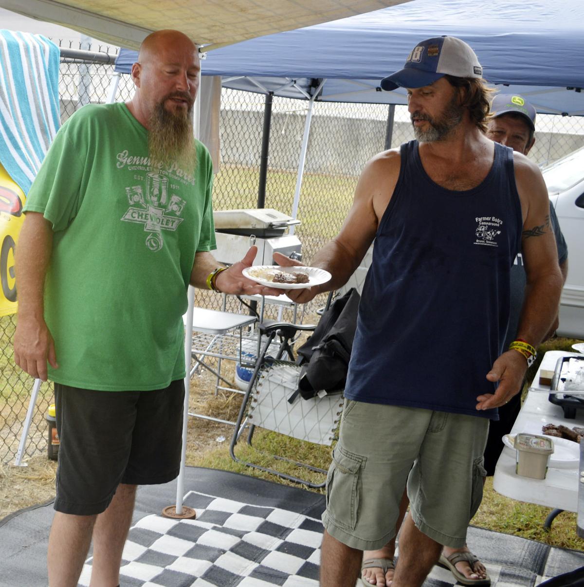 Sundays Southern 500 Fan Photos Gallery Andrew Smith Bermuda Shorts Navy 38 Darlington Adams