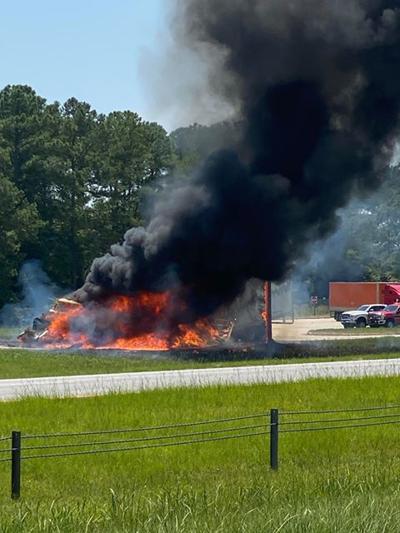 Darlington County Truck Fire