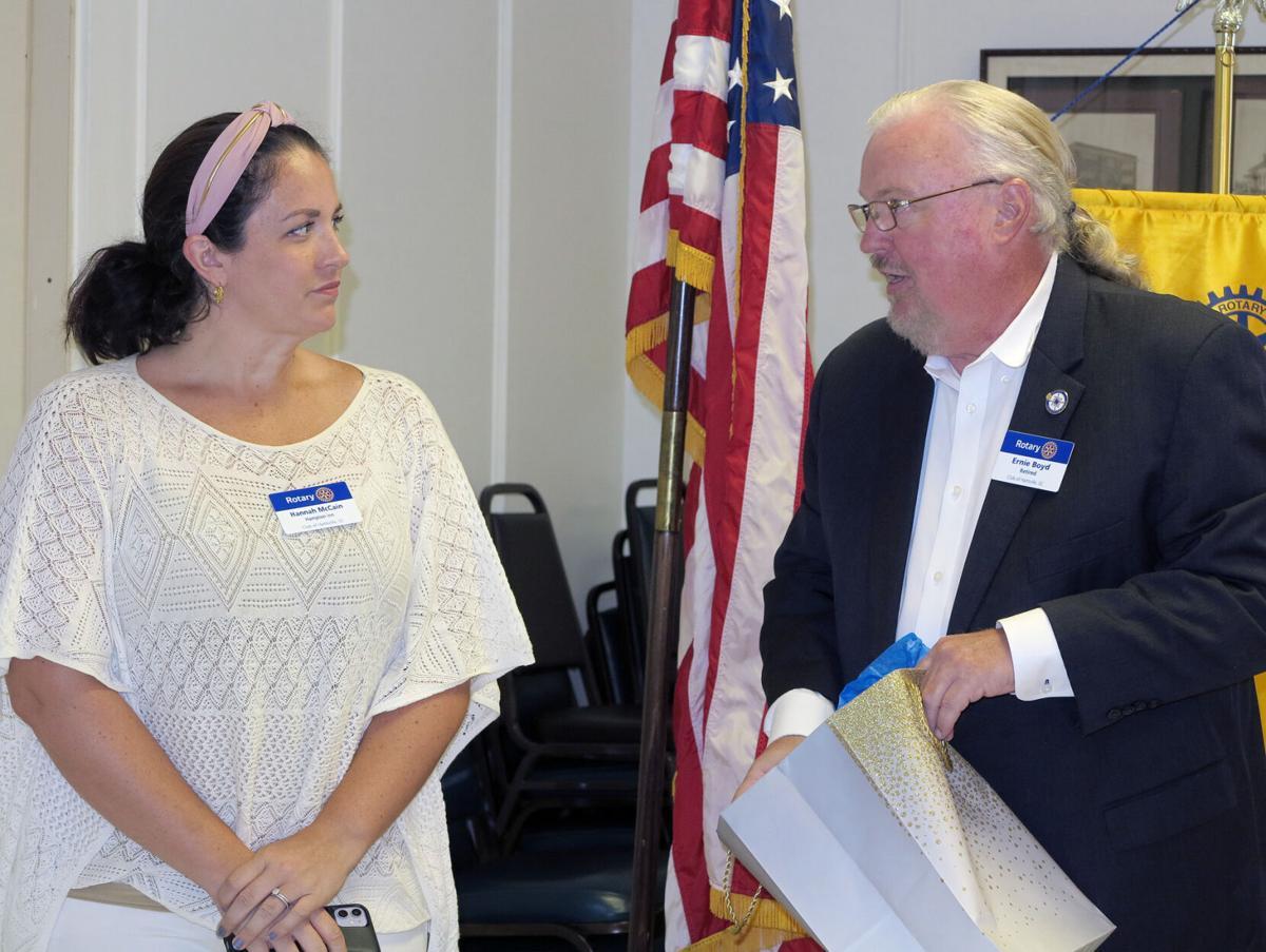 Hartsville Rotary Club installs Ernie Boyd as new club president