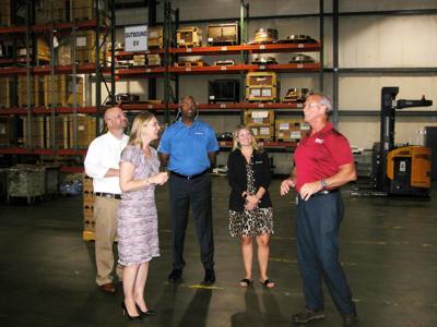 Boeing visits Hartsville industry, schools