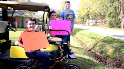 Lester Elementary School holds 'We Miss You' parade