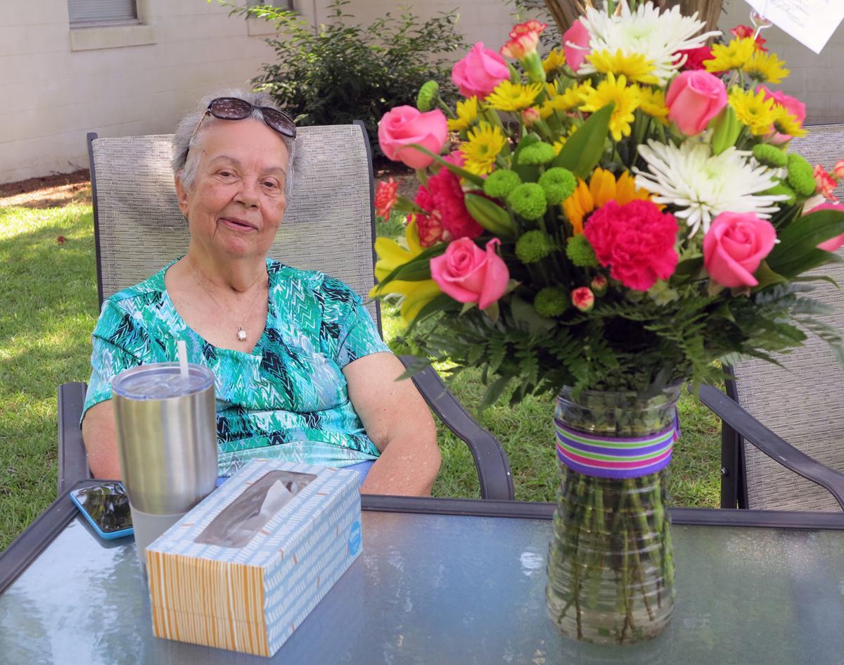 Shirley Nichols get surprise retirement parade 2