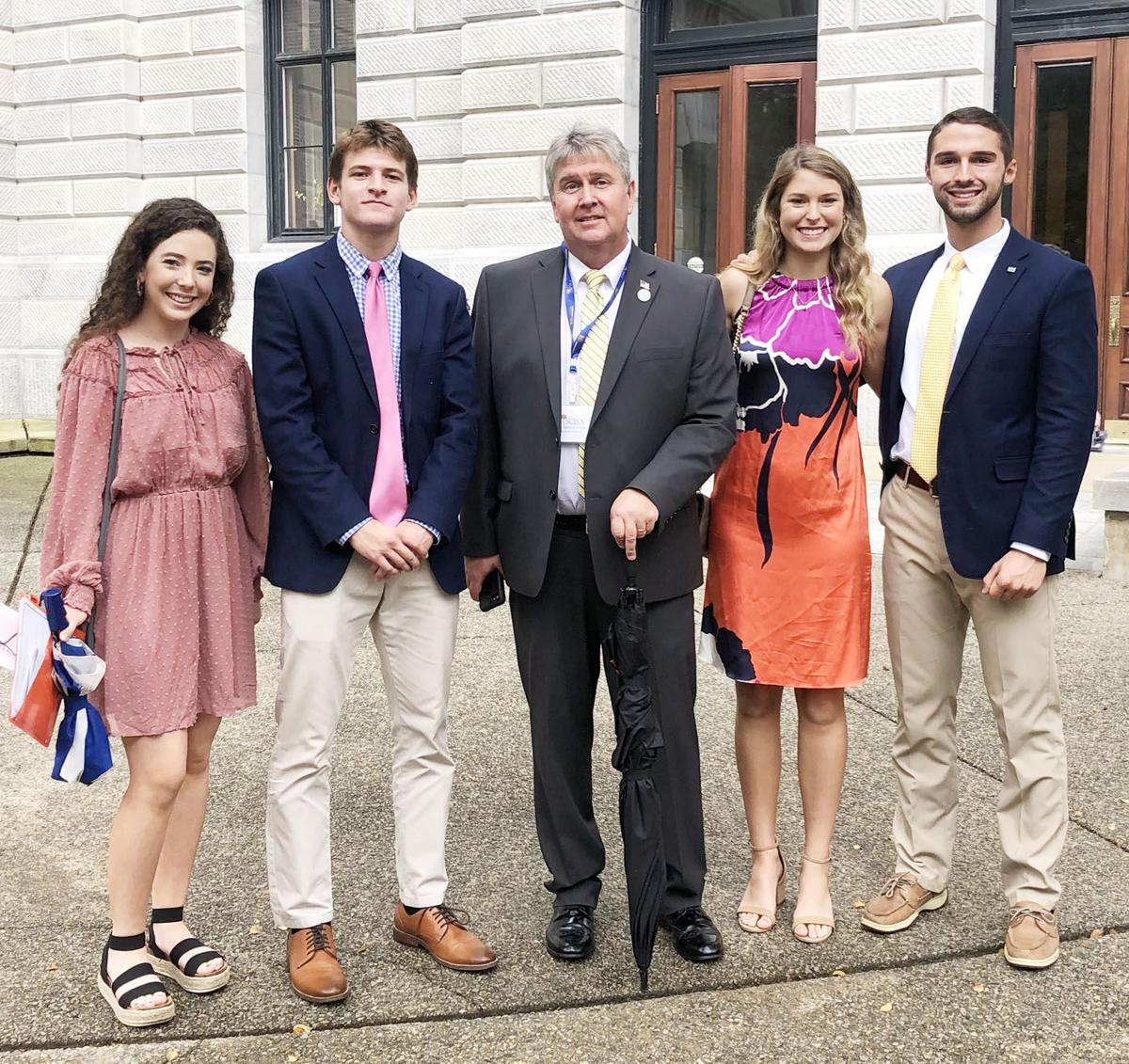 Pee Dee Academy students attend SCISA Fall Conference