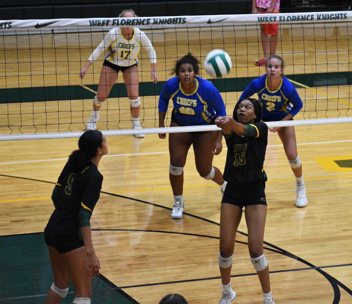 West Florence vs. North Myrtle Beach Volleyball