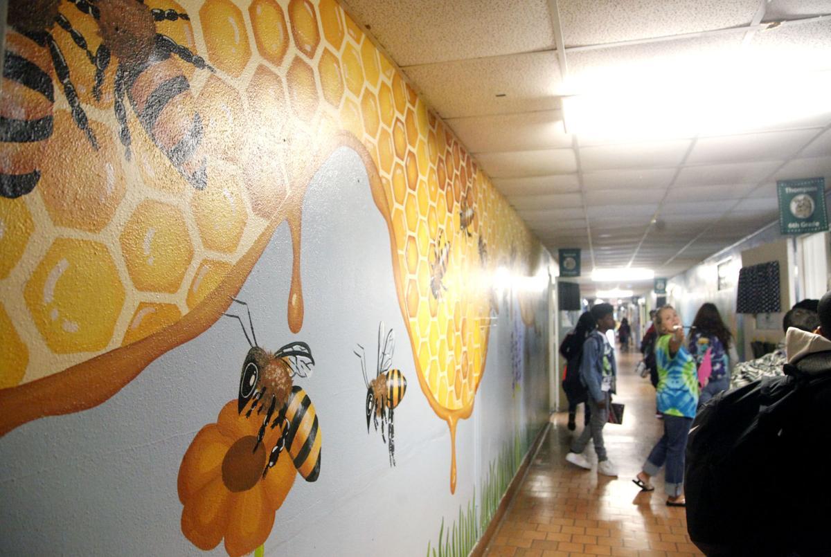 Briggs Elementary School Mural