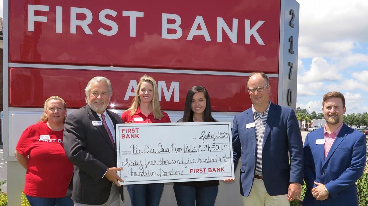 First Bank Foundation makes donations to nonprofits