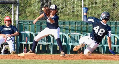 Florence Blue vs Hartsville Black Baseball