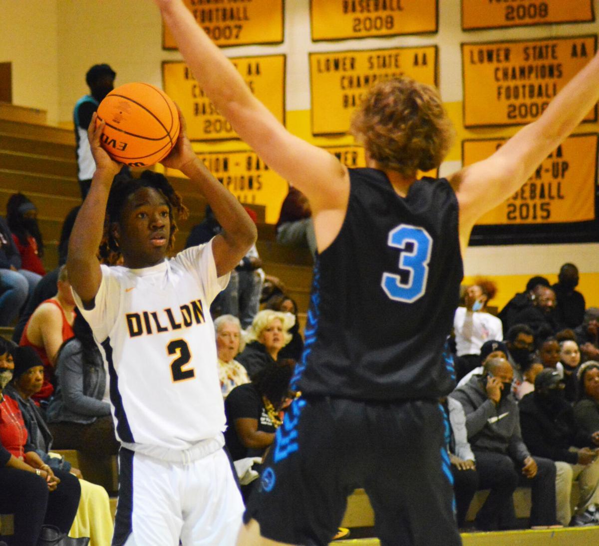 Dillon vs. Oceanside Basketball