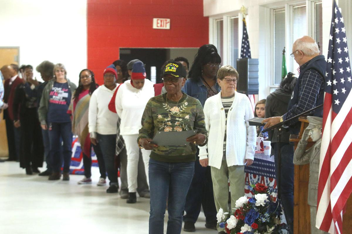 Marion County honors women for Veterans Day