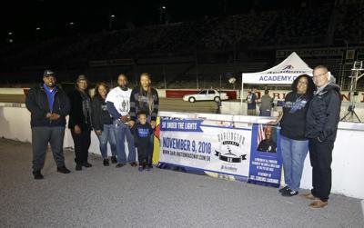 Darlington Raceway Carraway family photo