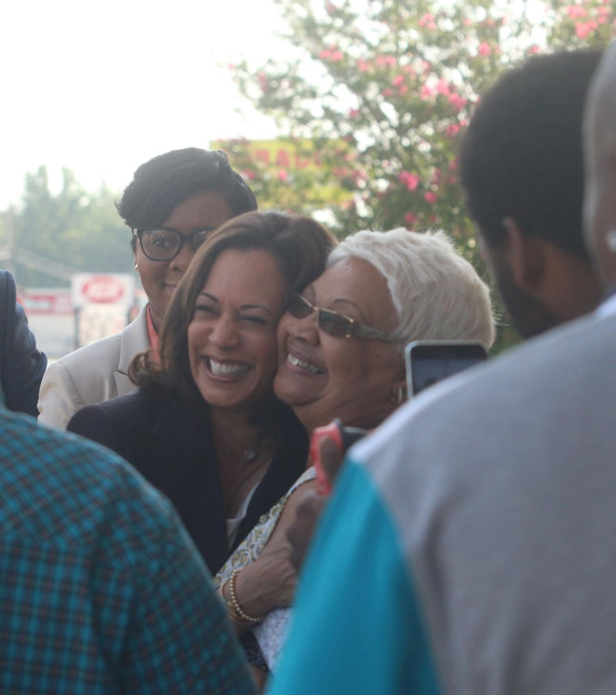 Sen. Harris makes presidential campaign stop in Marion County