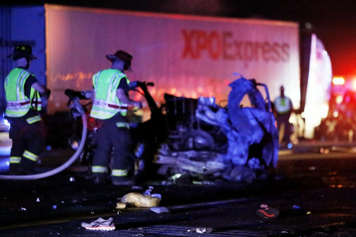 Five people die Saturday in fiery Florence I-95 crash | Local News