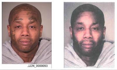 Police digitally alter mugshot after witnesses said a bank robber had no facial tattoos