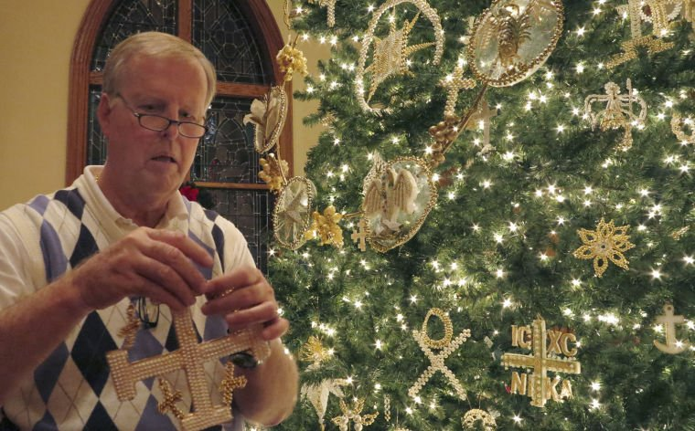 Saint Luke Lutheran's Chrismon Tree Celebrates 60 Years Holiday Custom Chrismon Patterns