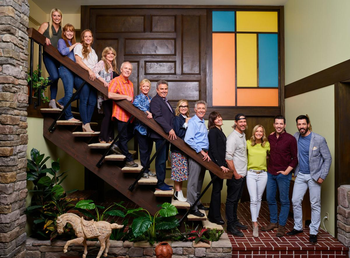 The 'Brady Bunch' kids come home for HGTV's sentimentally extreme makeover