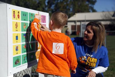 Carver Elementary School Communication Board