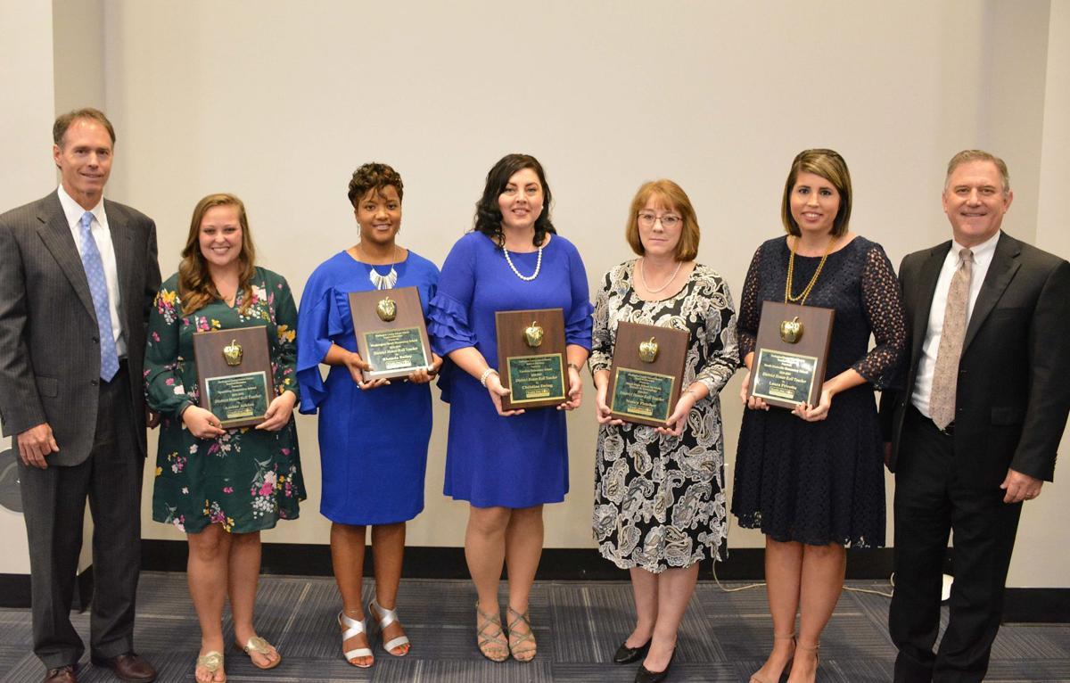 2018-19 Darlington County School District Teacher of the Year finalists