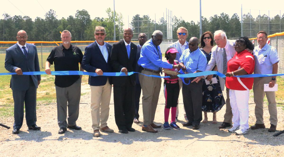 Blanding Street Baseball Field Dedication