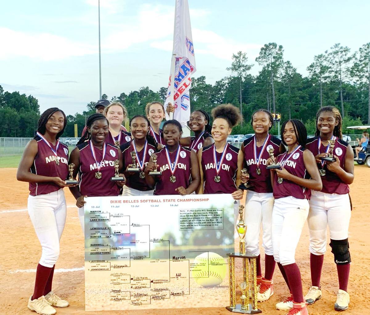 Marion Belles capture Dixie Belles Softball State Championship