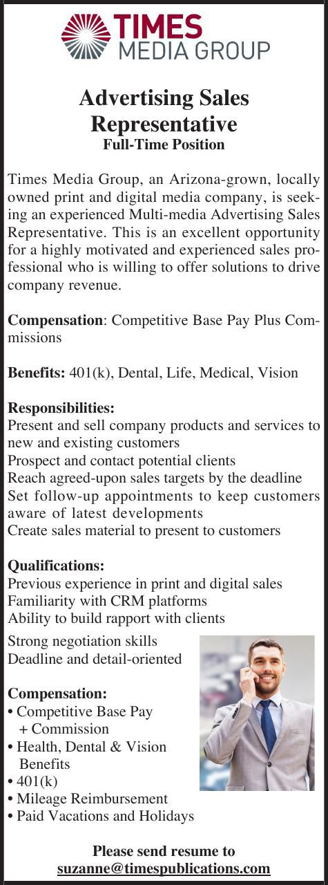 Ad Sales Rep