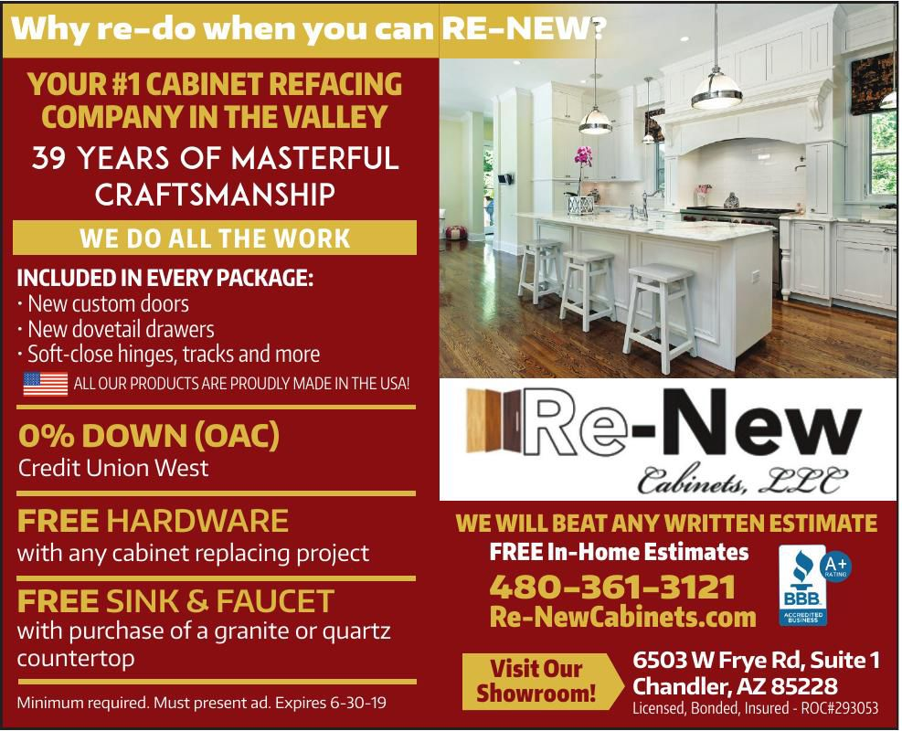 Why re-do when you can RE-NEW?