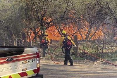 Margo Fire in Dudleyville