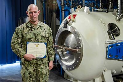 Chief Navy Diver Kenneth L. McCollum