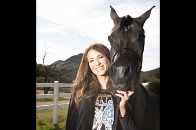 Supermodel Erin Naas Arabian Horse Show