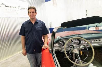 Ed Clark Painting Cars
