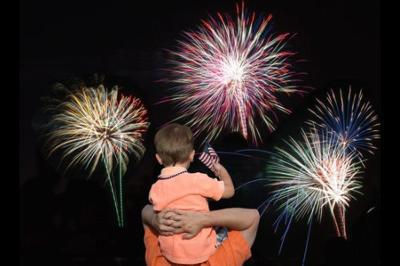 The Scottsdale 4th fireworks show