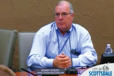 Scottsdale Streets Operations Director Randy Ghezzi