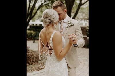 Cailee Schreck's Avancy bridal gown