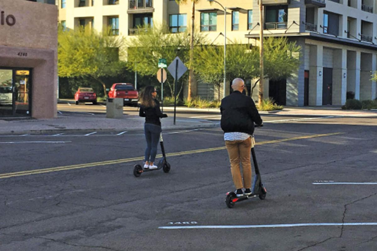 Electric scooter injuries spiking in Scottsdale | News | scottsdale org