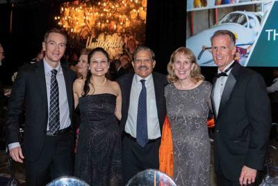 Colin and Bithika Thompson and Dr. Basu and Mrs. Jean Saha