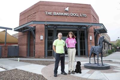 Jeze Santiago and Michelle O'Neill dog trainers