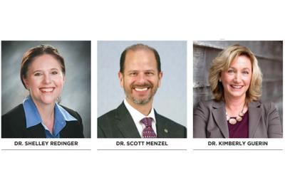 Dr. shelley redinger, Dr. scott menzel, Dr. kimberly guerin