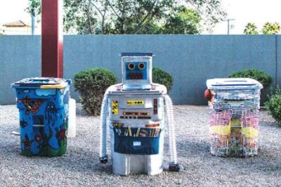 Recycling Bins City of Scottsdale Art