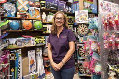Kate Tanner owner of KidStop Toys & Books