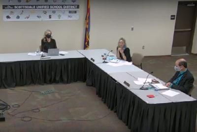 The Scottsdale Unified School District Governing Board