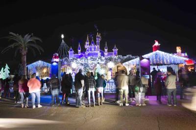 festive holiday homes and neighborhood light displays