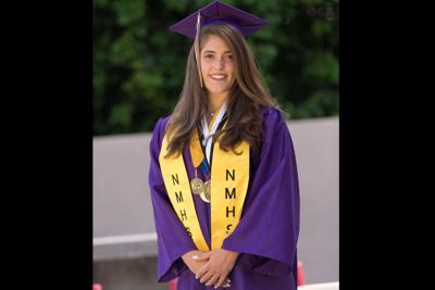 Gabriella Alessio Notre Dame graduates 214 seniors