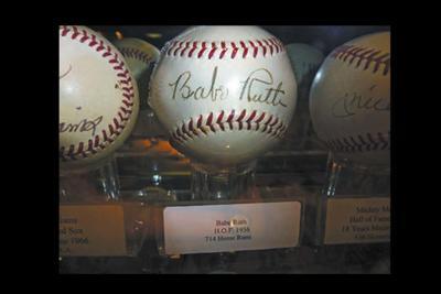 baseballs stolen from Don & Charlie