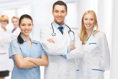 New program helps with hepatitis C treatment Doctors Smiling in Hallway