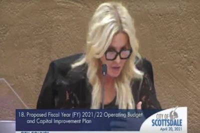 Scottsdale City Treasurer Judy Doyle