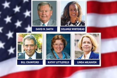 Bill Crawford, Kathy Littlefield, Linda Milhaven, David N. Smith, Solange Whitehead
