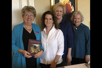 Ruth McLeod, Leslie Christiansen, Linda Corderman and Cathy Shumard