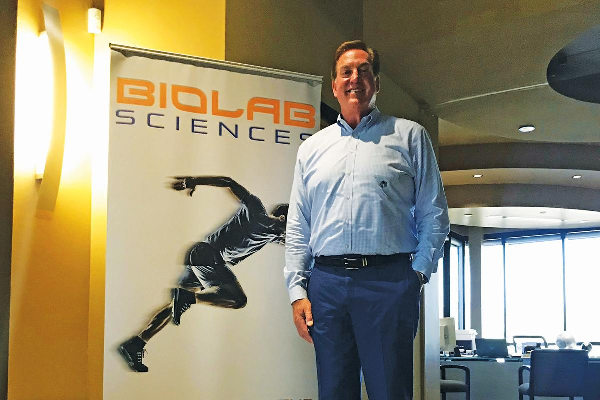 Biolab Sciences president and CEO Bob Maguire