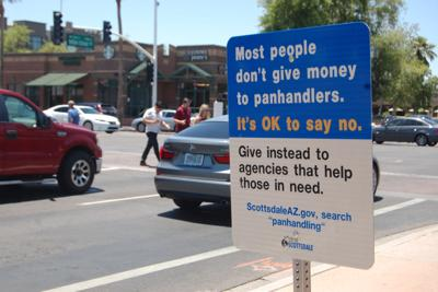 Effectiveness of panhandling signs doubted